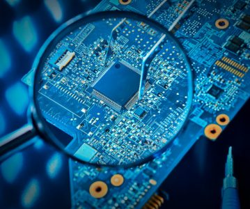 The Microelectronics Revolution Which is Base of Today's Industrial Technologies