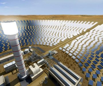 World's Largest Concentrated Solar Plant