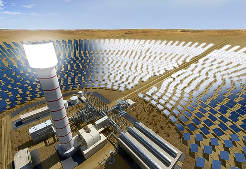 Worlds Largest Concentrated Solar Plant